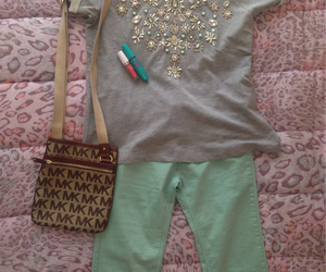 clothes, colour, and green image