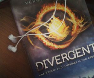 happiness, reading, and divergent image