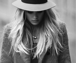 hat, style, and black and white image