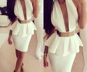 fashion, white, and gold image