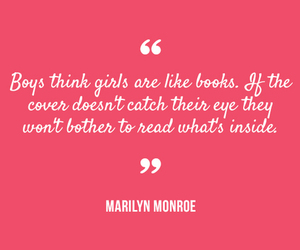 quote, book, and girl image