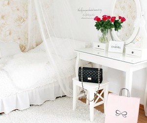 bedroom, chanel, and fashion image