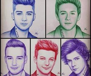 drawing, louis, and 1d image
