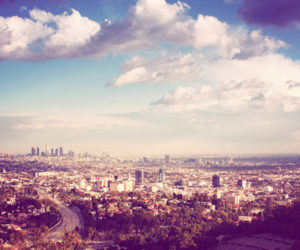 city, los angeles, and sky image