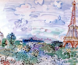 paris and raoul dufy image