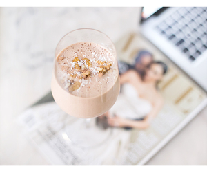 almond, breakfast, and drinks image