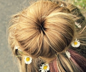 bun and hairstyle image