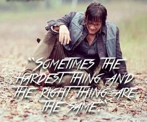 norman reedus, quote, and Right image