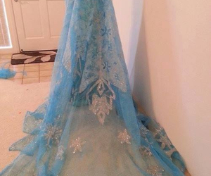dress, frozen, and elsa image