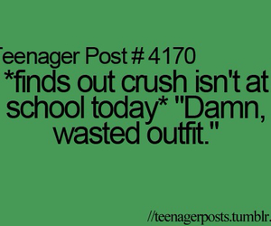 crush, outfit, and quote image