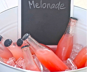 melonade, drink, and summer image