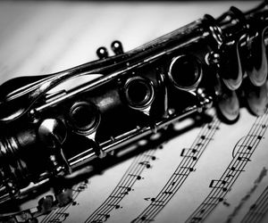 clarinet, classic, and music image