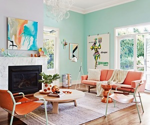apartment, cool, and decorating image