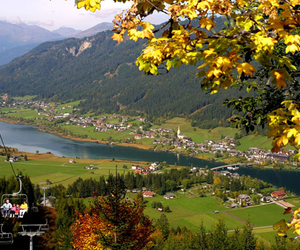 autumn, weissensee, and summer image
