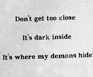 demon, imagine dragons, and dark image