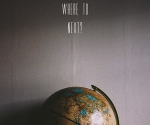 travel, world, and globe image