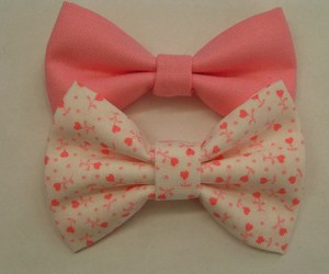 pink, cute, and bow image