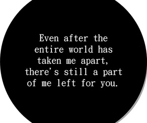 black, broken, and quotes image