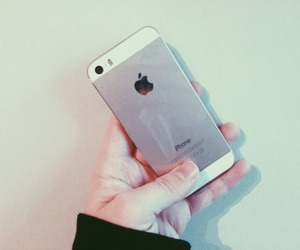 apple, iphone, and pale image