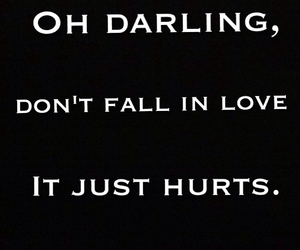 darling, heartbreak, and heartbroken image