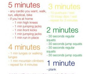 butt, cardio, and workout image