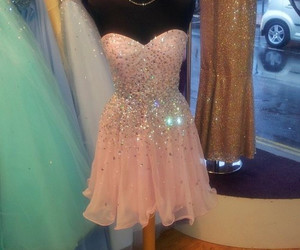 dress, pretty, and Prom image