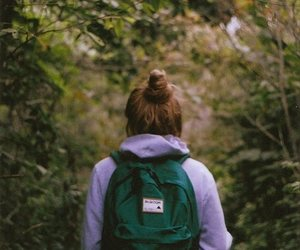 girl, nature, and indie image