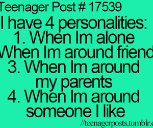 teenager post, personality, and quote image