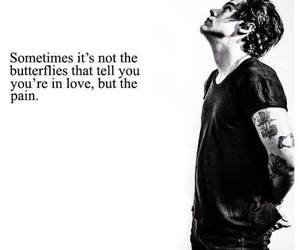 love, Harry Styles, and pain image