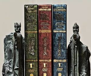 books, jrr tolkien, and lord of the rings image