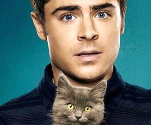 cat, movie, and zac efron image