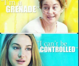 divergent, the fault in our stars, and tris image