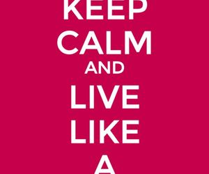awesome, keep calm, and Queen image