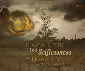 divergent, tris, and bravery image