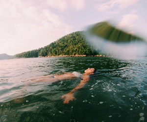 summer, water, and gopro image