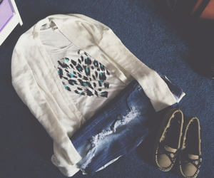 cardigan, clothes, and clothing image