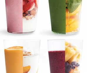 fruit, healthy, and smoothie image