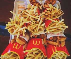 French Fries, mc donalds, and loveit image