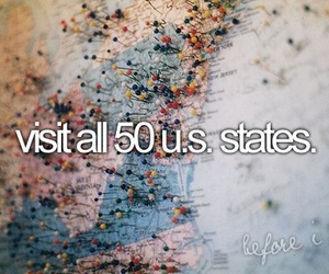 before i die, usa, and travel image