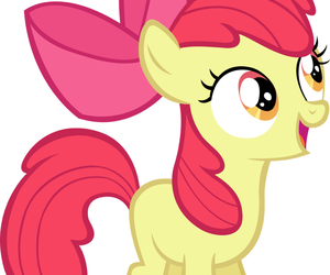 MLP, apple bloom, and apple family image