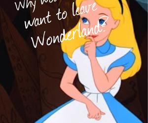 alice, blonde, and blue image