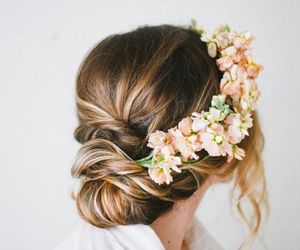 flower, flowers, and wedding image