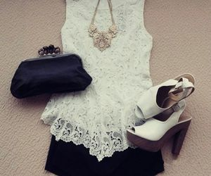 accessories, black and white, and fashion image