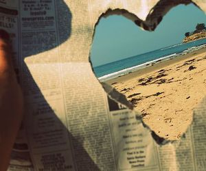 :3, heart, and newspaper image