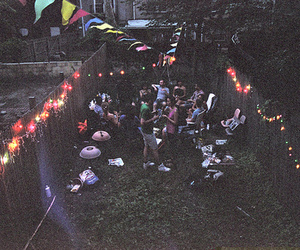 party, light, and hipster image