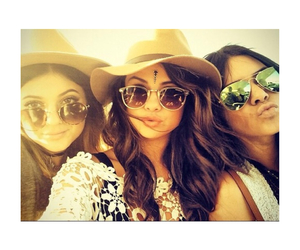 selena gomez, kylie jenner, and kendall jenner image