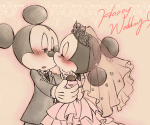 disney, married, and minnie mouse image