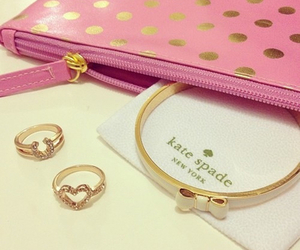 accessories, rings, and kate spade image