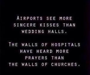 quotes, kiss, and airport image