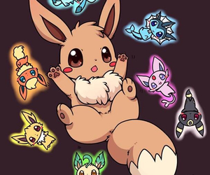 choice, eevee, and evolution image
